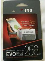 Micro sd TF Tarjeta de memoria C10 Flash SDHC SD Adaptador SDXC Paquete 256GB de alta velocidad descarga