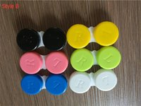 Contact lens case color contact with candy colors contact le...