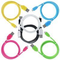 Factory Sale Fast Speed 1M 3Ft TPE Bicolor Micro USB Data Ca...