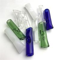 Mini filtre en verre Conseils pour le tabac à herbes secs RAW Papiers à rouler avec Cypress Hill Phuncky épais Pyrex verre coloré Smoking Pipes