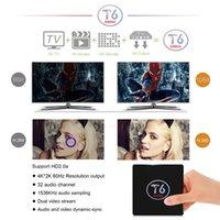 T6 S905X Android 6. 0 TV Box Quad Core ARM Cortex A53 @2GHz 2...