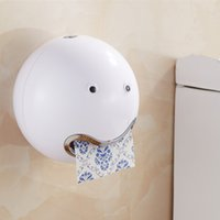 Wholesale- New cute plastic Toilet Paper Holder tissue box p...