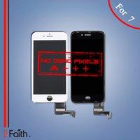 Grade A +++ Affichage LCD Touch Digitizer Frame Assemblage réparation pour iPhone 7 DHL livraison gratuite