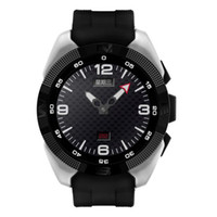 NB-1 Cardiofréquencemètre Bluetooth Smart Watches SmartWatch MT2502 Ultra Slim moniteur de sommeil Step pour iOS Android avec paquet de détail