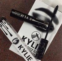 Kylie Jenner Mascara Magic espeso delgado mascarilla impermeable Black Eye Mascara largo pestaña Encantadores ojos cosméticos blanco negro paquete