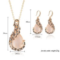 Necklace earrings set NEW Fashion Jewelry For Women Clothing...