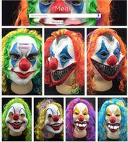 Wholesale- Scary Clown Mask Joker Men' s Full Face Party ...