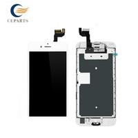 Écran LCD pour Apple iPhone 6S Écran tactile Digitizer Frame Full Set Assemblée Remplacement + Bouton Accueil + Appareil photo