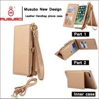 Véritable étui en cuir pour téléphone étui Iphone pour Iphone 6/6 plus Iphone 7/7 plus étui pour sac à main 4 couleurs