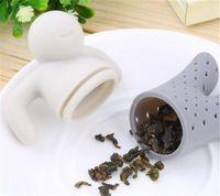 2017 Nuevo tamiz lindo único del té, socio interesante de la vida Tetera linda del filtro de la infusión del té del silicón de Srta. Teapot para el café del té Drinkware