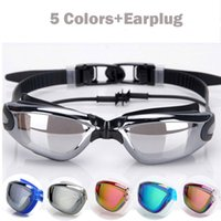 New Professional UV Protection Swim Glasses Anti Frog Waterp...