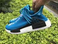 NMD Human Race Runner Shoes Yellow Hu man Pharrell Williams ...