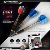 WINMAX Professional Steel Tip Darts With Aluminum Alloy Shaf...