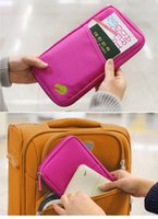 DHL free 100pcs lot Cheap Candy Color Travel Passport Credit...
