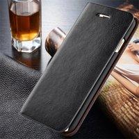Étui de téléphone en cuir véritable Iphone cas protecteur de téléphone couverture pour Iphone Livraison gratuite en gros de Samsung 6 couleurs