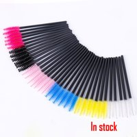 Disposable Eyelash Brush Mascara Wands Applicator Makeup Cos...