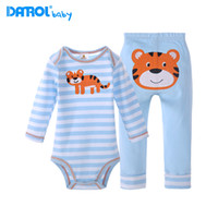 6M- 24M 100% Cotton Baby Bodysuit With Pants Baby' s Set ...