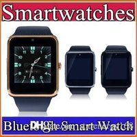 15X GT08 Bluetooth 2016 Smart Watch avec carte SIM et NFC Health Watchs pour Android et IOS iphone Smartphone Bracelet Smartwatch C-BS
