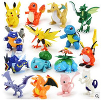15 Стиль Дети Poke Go Пикачу Чаризард Eevee Bulbasaur Suicune Assemble игрушки Мультфильм Пикачу Цифры Игрушки Poke Go Mini Модель CCA5518 150pcs