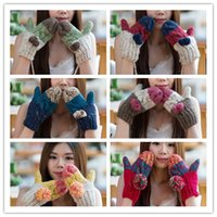 2016 Hot Sale Knitted Wool Mittens Fashion Winter Fall Thick...