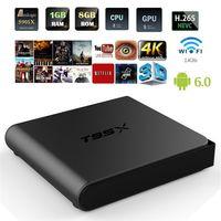 [Genuine] T95X Amlogic S905X Quad Core Android 6. 0 TV Box 2....