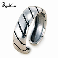 RAVIMOUR Vintage Accessories Punk Rings For Women Men Jewelr...