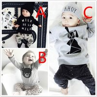 Baby Toddler Cotton Long Sleeve Clothing Sets Outfits Girls ...