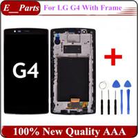 1Pcs Pour LG G4 H810 VS999 LCD + numériseur d'écran tactile avec le remplacement de cadre 100% Original qualité AAA avec outils ouverts