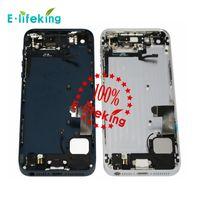 Cadre moyen Logement couver Boîtier Assemblage Boîtier Remplacement ou avec pièces sans pièces iPhone 5 5S Couverture arrière réparation