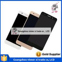 Ecran tactile de qualité d'origine numériseur + écran LCD Pour Huawei Y6 II CAM-L03 CAM-L21 CAM-L23 numéro de suivi rapide d'expédition