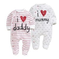 2017 new Baby Rompers First Movement Newborn clothes Romper ...