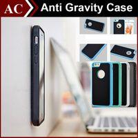 Anti Gravity Selfie TPU PC Hybrid Adsorption Case For iPhone...