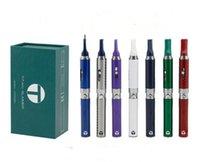 Titan Slimmer Vaporizer Pen Starter Kits 650mah Dry Herb Vaporizer Pen Cigarette électronique Titan 2 Snoop Dogg Vape 7 Couleurs