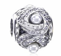 2017 SpringCrystal Perle Charme Pour Pandora Bracelet DIY Bead Charm Bijoux en argent sterling
