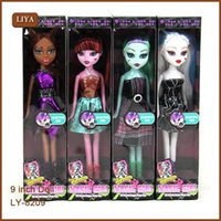 4pcs set Monster Toys Doll for Girls   High Quality Toy Gift...