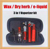 E liquid cigarette starter kits
