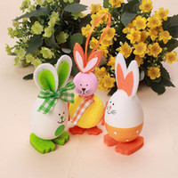 2017 The Best Quality New Cute Bunny Shaped Easter Eggs Hang...