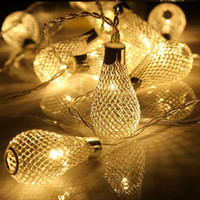 Led Metal Bulbs String Light 3W With US EU Plug Led Strings ...