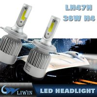 Factory Price H4 72W All In One Design Led Car Headlight Wit...