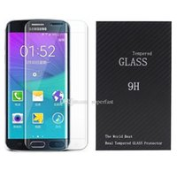 3D Curved Glass Tempered Glass For Galaxy S7 Edge S7 3D Curv...
