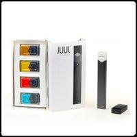 2017 Juul V2 kit de inicio e cigarrillo CBD Vape Vapor Kit Clon de alta calidad con 4 sabores