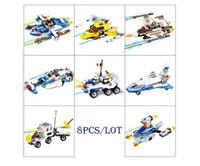 881pcs set Space exploration series Building Blocks Bricks T...