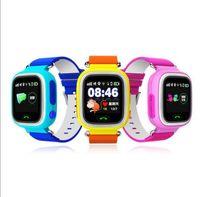 умные часы Детские часы Q90 с WiFi сенсорный экран SOS Call-Location DeviceTracker для Kid Safe Anti-Потерянный монитор PKQ80 Q60