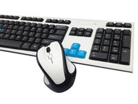 2. 4GHz Slim Suspended Wireless Keyboard and Wireless Mouse c...