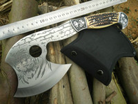 NEW Outdoor axes engineers axes The devil axe Outdoor campin...