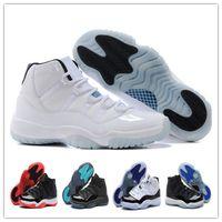 Wholesale Retro 11 XI Basketball Shoes Bred Legend Blue Men ...