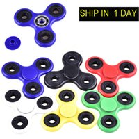 HandSpinner Fingertips Spirale Fingers Fidget Spinner EDC Hand Spinner Acrylique Plastic Fidgets Jouets Gyro Toys With Retail Box DHL OTH348