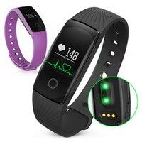 Smart Wristband ID107 Smartband Smartwatch Fitness Tracker Силиконовый браслет для измерения сердечного ритма Шагомер Fitness ID 107 Наручные часы