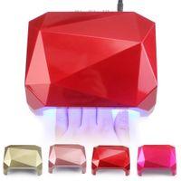 36W Led Lamp Nail Dryer Diamond Shaped LED Lamp Nail Lamp Cu...