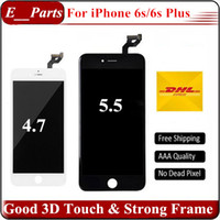 Pour iPhone 6s Plus LCD 6 Go LCD Grade AAA LCD Display Touch Digitizer avec forte colle froide